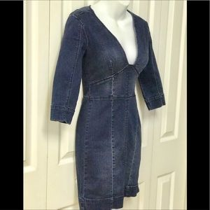 Bebe denim dress size 00